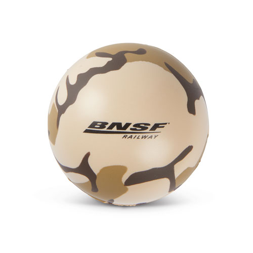 BNSF Camo Stress Relief Ball