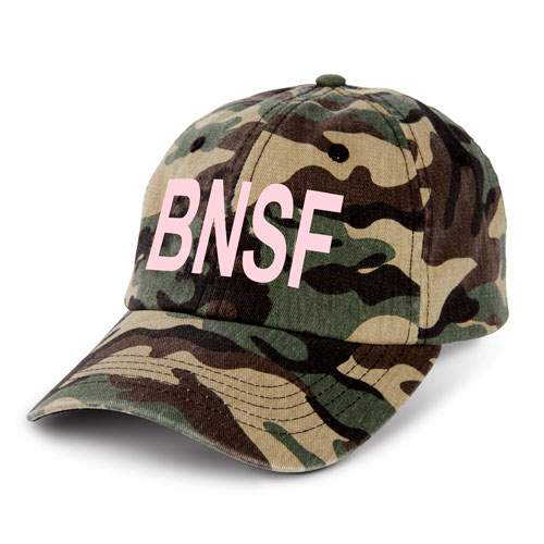 Ladies' Camo-Blush Cap