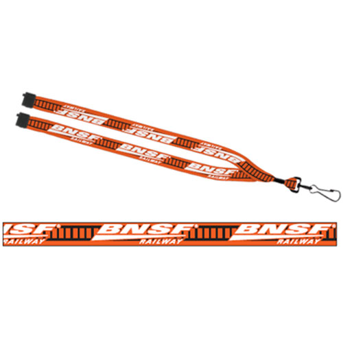 BNSF Lanyard with Safety Release