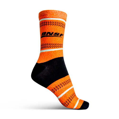 BNSF Custom Tribe Socks