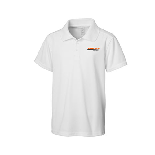 BNSF Unisex Performance Polo, White