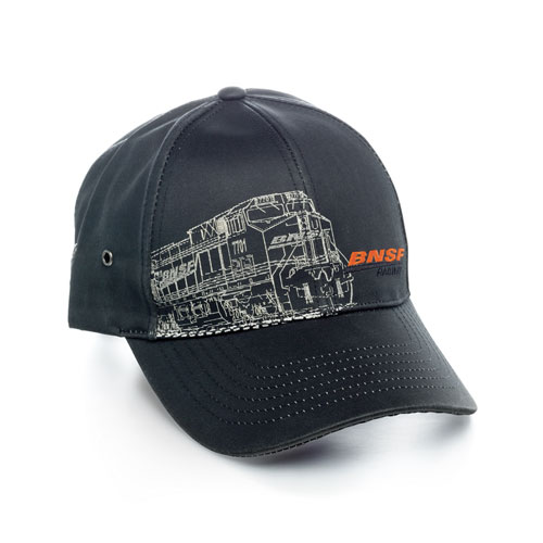 BNSF Waxed Cotton Canvas Cap