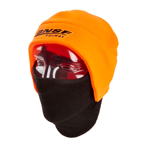 BNSF Fleece Beanie with Face Guard