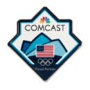 2018 Comcast Olympic Lapel Pin