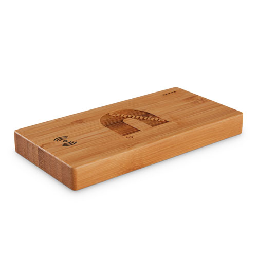 Cummins Plank 5,000-mAh Bamboo Wireless Power Bank