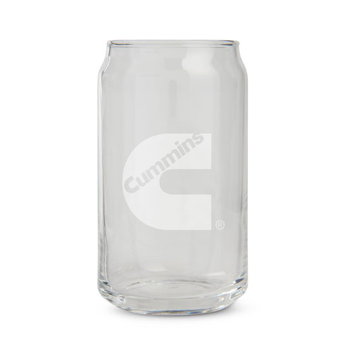 Cummins Beer Can Glassware - 2 Pack