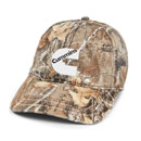 Realtree® Camo Cap with American Flag Undervisor
