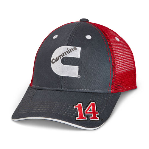 Clint Bowyer and No. 14 Trucker Hat