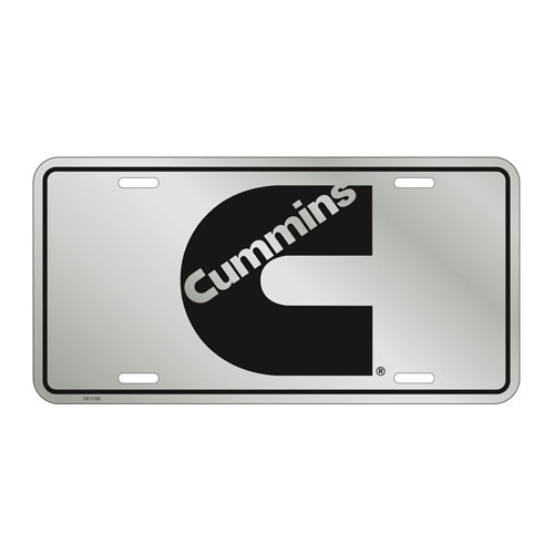 Stainless License Plate