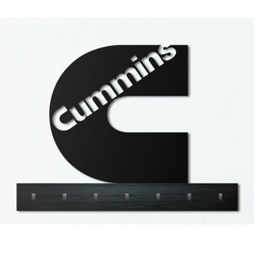 "Cummins ""C"" Die Cut Wall Mounted Sign"