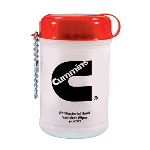 Cummins Mini Canister Sanitizer Wipes