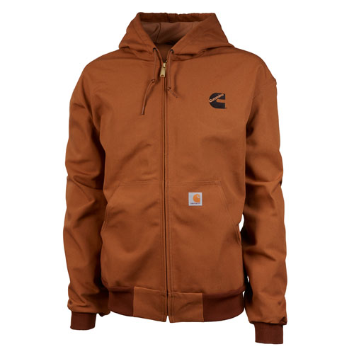 CMN Carhartt Thermal-Line Duck Active Jacket Brown