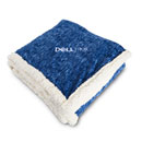 Dell EMC Heathered Fleece Sherpa Blanket