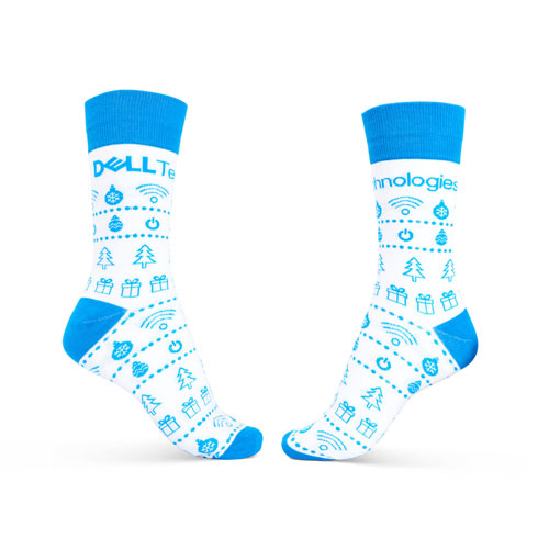 Dell Technologies Holiday Socks