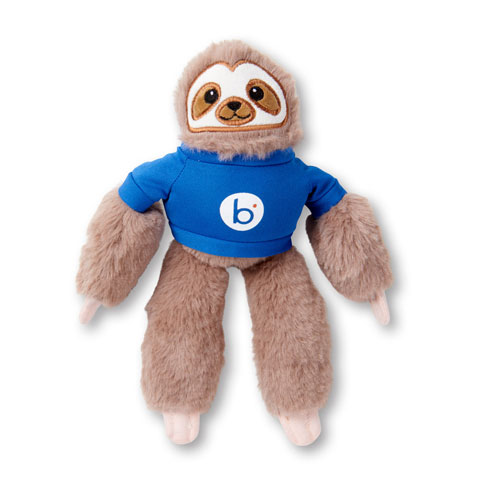 "Boomi ""Sammy"" the Sloth Plush Toy"