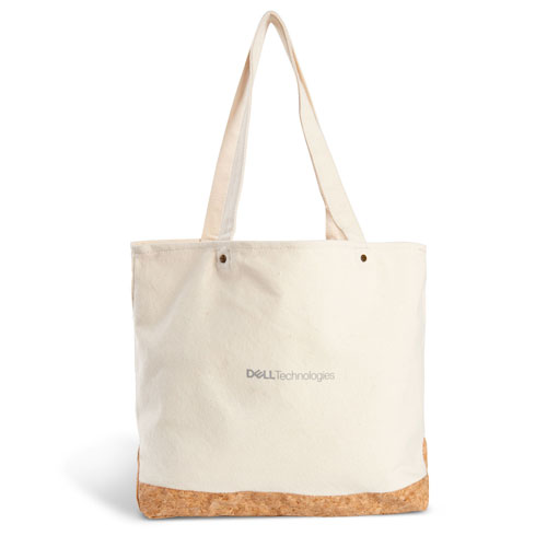Dell Technologies Cotton and Cork Tote