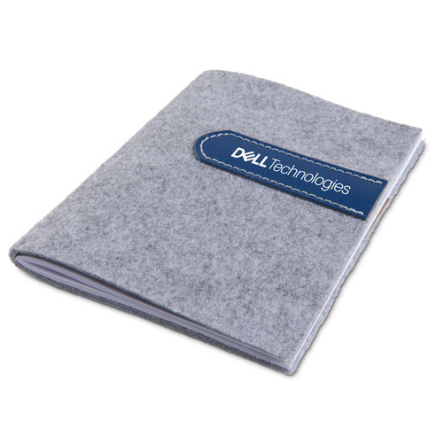 Dell Technologies ExecuColor Leather and Felt Journal