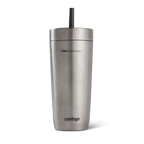 Dell Technologies Contigo Luxe Spill-Proof Tumbler, 18 oz.