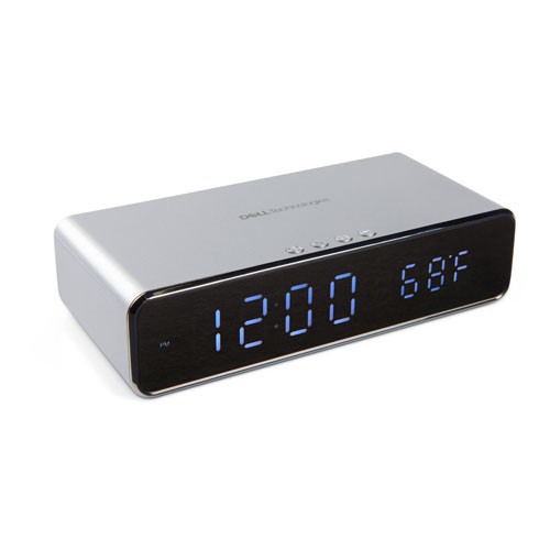 Dell Technologies Keen Wireless Charging Alarm Clock