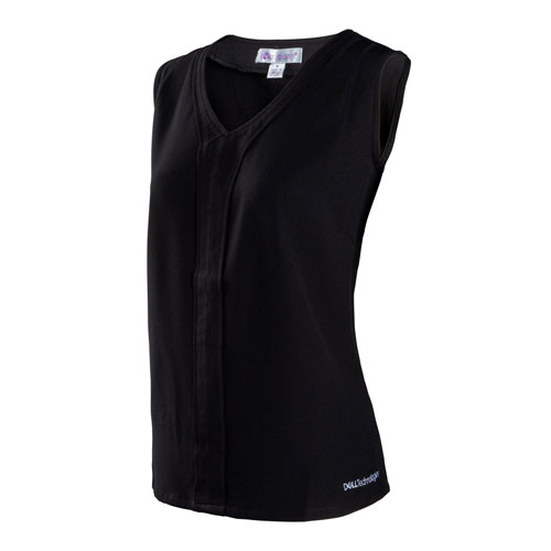 Dell Technologies Ladies' Sleeveless V-Neck Blouse