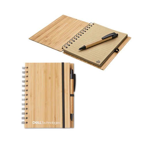 Dell Technologies Bamboo Notebook and Pen