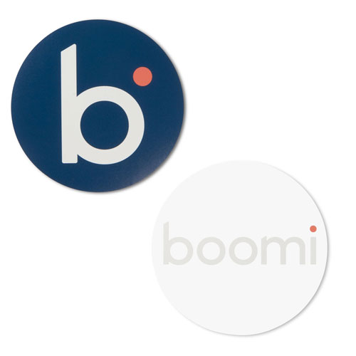 Boomi Circle B and Boomi Duo Stickers