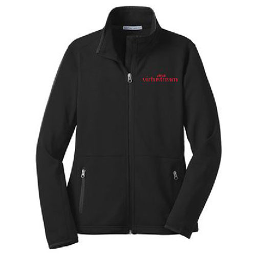 Ladies' Virtustream Pique Fleece Jacket