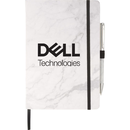 Dell Technologies Marble Hardcover Journal