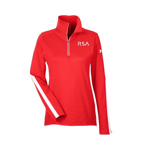 RSA® Ladies Under Armour Qualifier 1/4 Zip Pullover