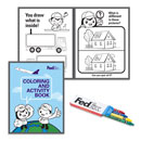 FedEx Children's Color/Activity Book with Crayons