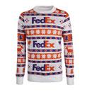 FedEx Argyle Holiday Sweater