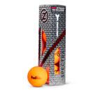 FED Zero Friction Spectra Matte Golf Balls (Slv of 4) Orange OS