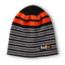 FedEx Ground Striped Beanie