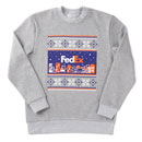 FED Youth Christmas Sweatshirt Grey YXL