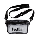 FedEx Tinted Clear Convertible Waist Pack
