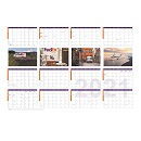 FedEx 2021 Wall Calendar (25 Pack)