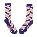 FedEx Racing Chevron-Print Athletic Socks