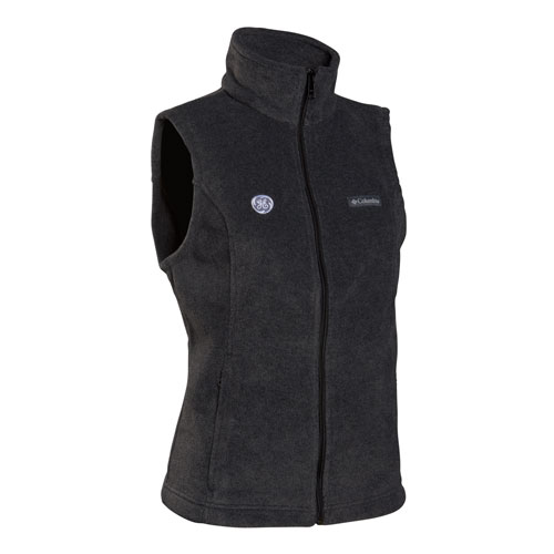 GE Womens Columbia Benton Springs Vest Graphite