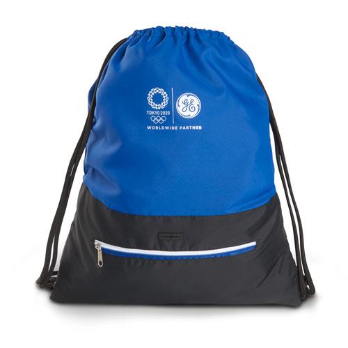 GE Tokyo Olympics Big Deal Drawstring Sportsack Royal Blue