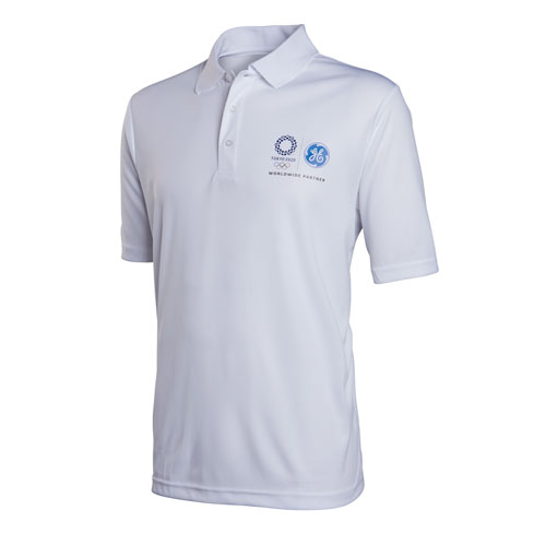 GE Tokyo Olympics Men's Performance Polo