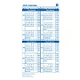GE Custom 2021/2022 Large Fiscal Calendar Blue (Pack of 25)