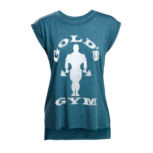 Ladies' Silhouette Joe Tee - Aqua