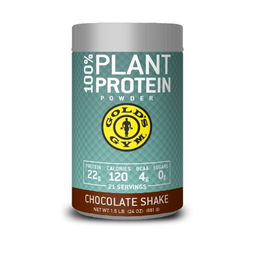 Chocolate 100% Plant Protein Powder 24 oz