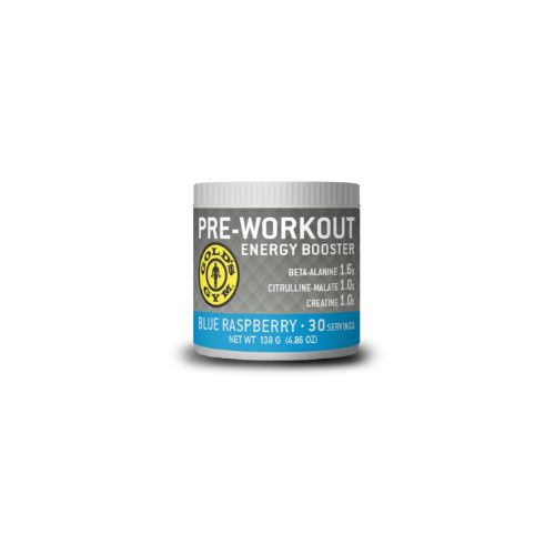 Blue Raspberry Pre-Workout Energy Booster 4.86 oz