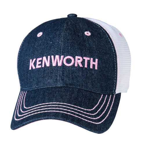 Ladies' Denim Mesh Hat