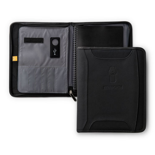 Zippered Tech Padfolio