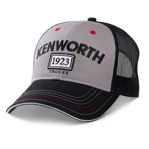 Grey 1923 Trucks Mesh-Back Structured Cap