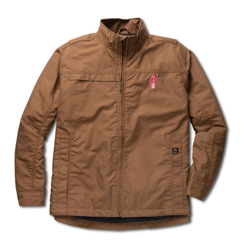 Khaki DRI DUCK Sequoia Water-Resistant Work Jacket