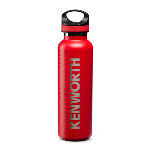 Red 20 oz. Basecamp® Tundra Vacuum-Insulated Bottle