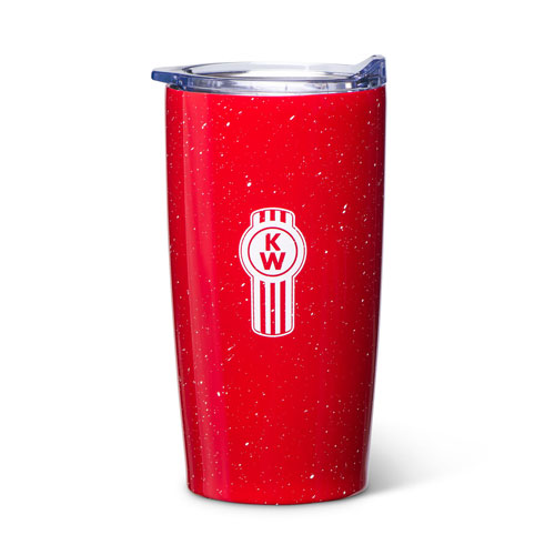 Red 18 oz. Himalaya Tumbler with Speckled Finish